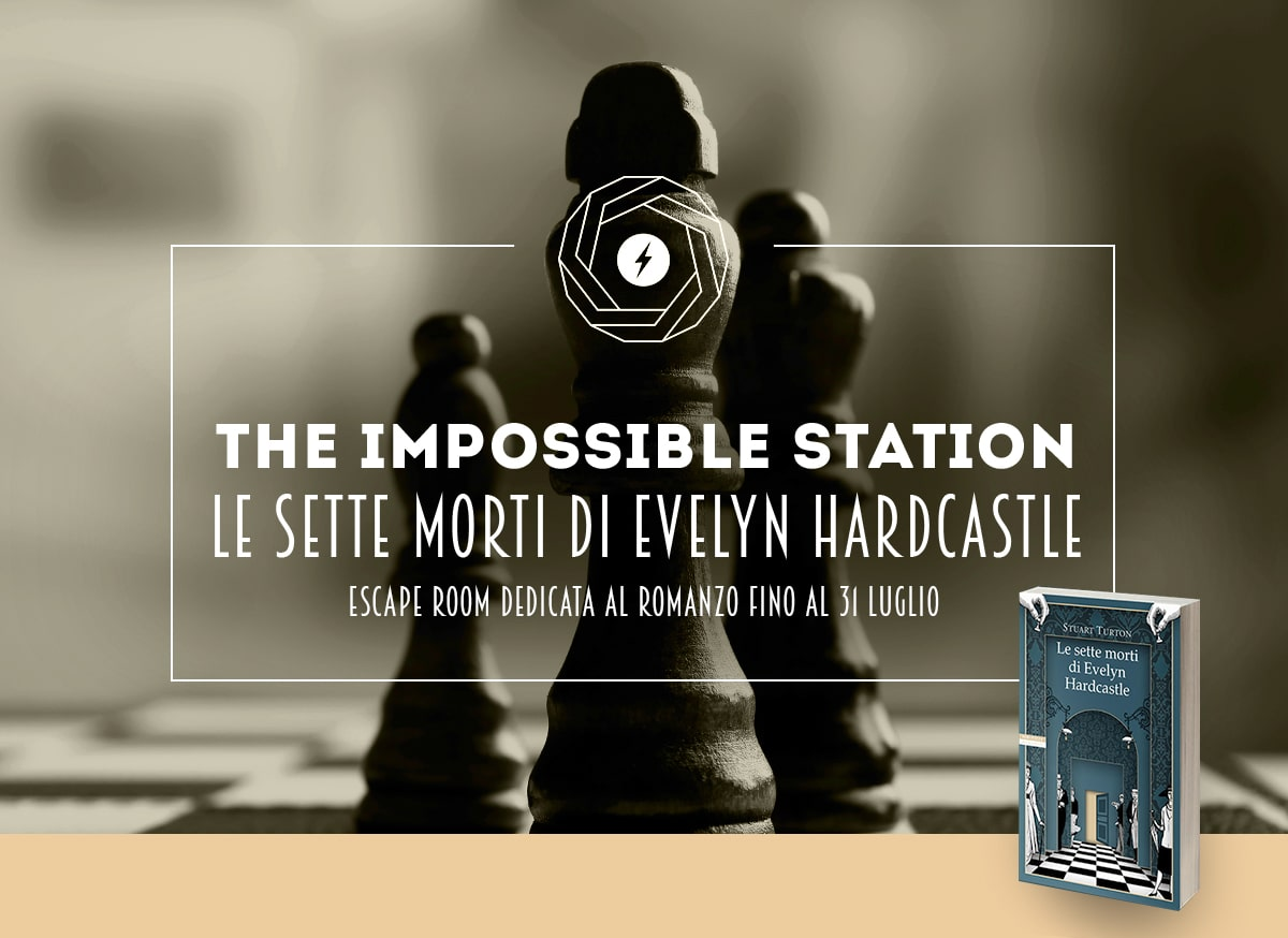 the impossible station stanza interattiva esperimento fisica tecnologia tecnologica escape room milano