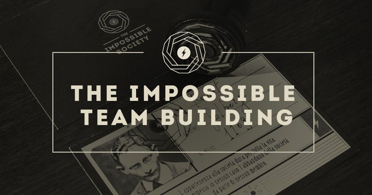 facebook the impossible team building aziendale aziende evento milano