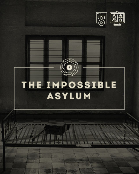 the impossible asylum escape room online live streaming milano coming soon