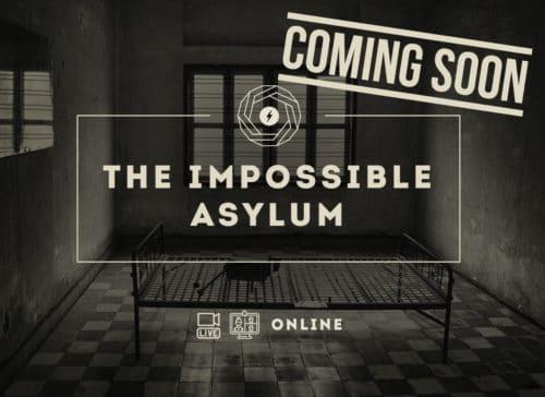 the impossible asylum manicomio prigione cella virtual live video cam escape room coming soon